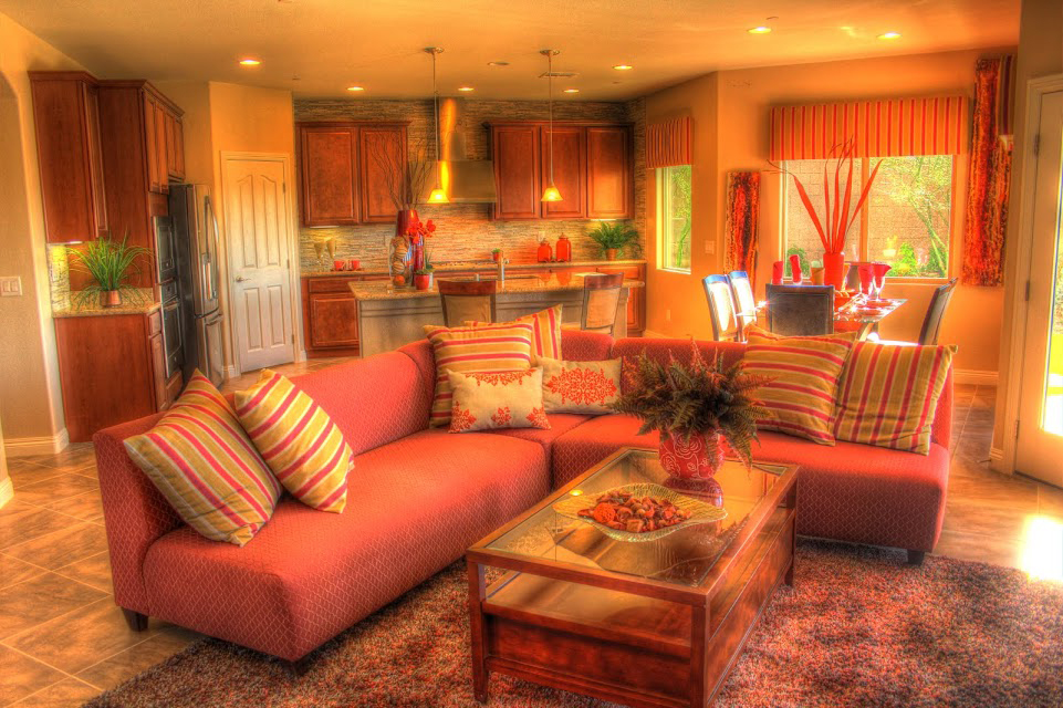 Las Vegas home interior design living room