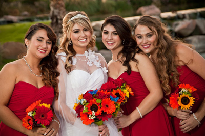 Memorable Photos of the Bride and Bridesmaids